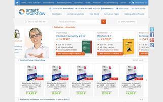 smart-workflow.de Webseiten Screenshot