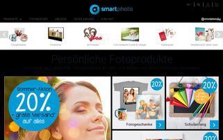 Smartphoto Schweiz Webseiten Screenshot