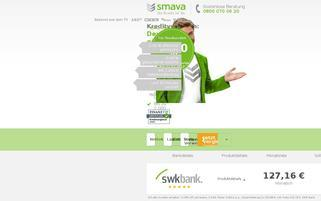 smava Webseiten Screenshot