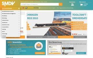 SMDV Webseiten Screenshot