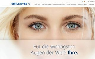 Smile Eyes Webseiten Screenshot