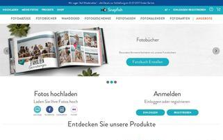 Snapfish.at Webseiten Screenshot