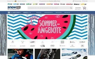 snowinn.com Webseiten Screenshot