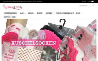 socken-und-mehr Webseiten Screenshot