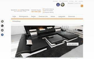 Sofa Dreams Webseiten Screenshot