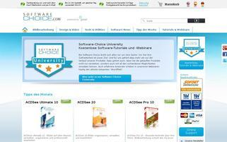 Software Choice Webseiten Screenshot
