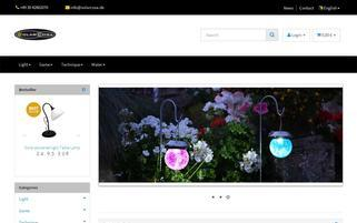 solarcosa.de Webseiten Screenshot