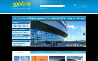 soldera Webseiten Screenshot