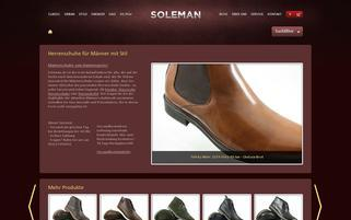 Soleman Webseiten Screenshot