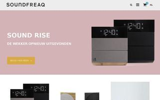 Soundfreaq Webseiten Screenshot