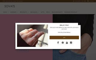Sovats Webseiten Screenshot