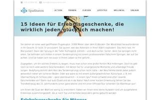 spassbaron.de Webseiten Screenshot