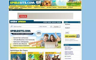 spielesite.com Webseiten Screenshot