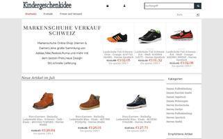 Spielhaus Webseiten Screenshot
