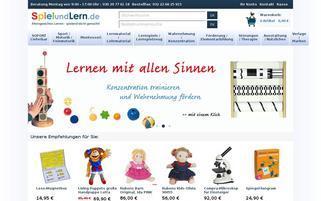 Spielundlern Webseiten Screenshot