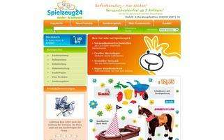 Spielzeug24 Webseiten Screenshot