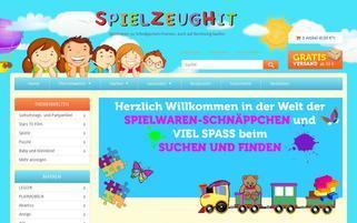 spielzeughit.de Webseiten Screenshot