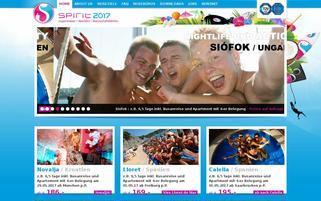 Spirit Reisen Webseiten Screenshot