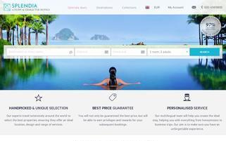 Splendia Webseiten Screenshot