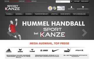 sport-kanze.de Webseiten Screenshot