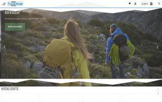 Sport Praxenthaler Webseiten Screenshot