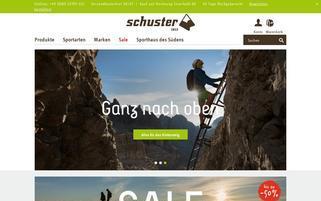 Sport Schuster Webseiten Screenshot