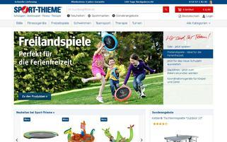 Sport Thieme Webseiten Screenshot