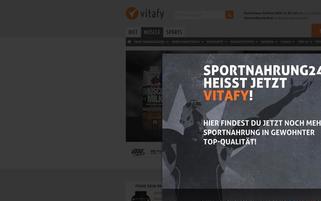 sportnahrung24.de Webseiten Screenshot