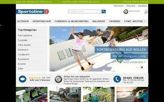 Sportolino Webseiten Screenshot