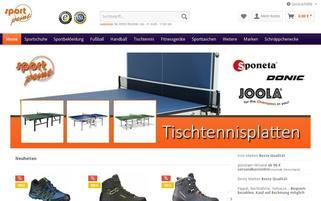 SportPoint 24 Webseiten Screenshot