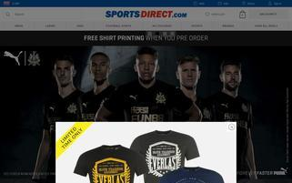 Sports Direct Webseiten Screenshot