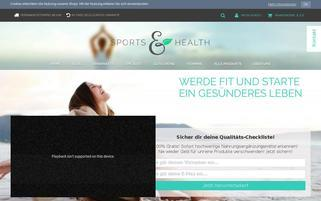 sports-health.de Webseiten Screenshot