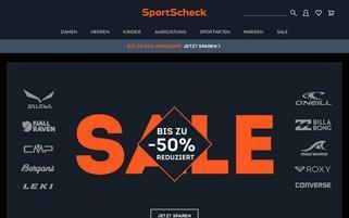 Sportscheck.at Webseiten Screenshot