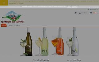 spritziges-aus-suedtirol.de Webseiten Screenshot