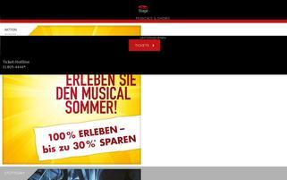 Stage-Entertainment Webseiten Screenshot