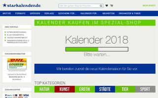 Starkalender Webseiten Screenshot