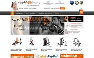 starkk.de Webseiten Screenshot