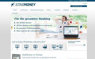 starmoney.de Webseiten Screenshot