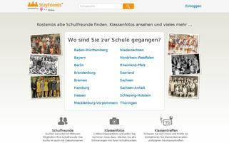 StayFriends Webseiten Screenshot