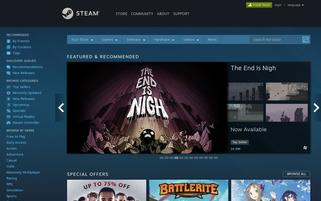 Steam Webseiten Screenshot