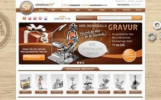 Steelman24 Webseiten Screenshot