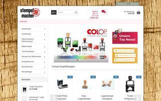 Stempelmacher Webseiten Screenshot