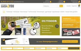 Stempelshop4you Webseiten Screenshot