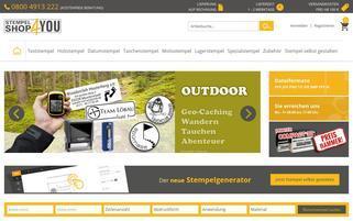 Stempelshop4you Webseiten Screenshot