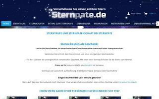 Sternpate Webseiten Screenshot