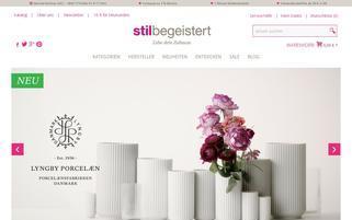 Stilbegeistert Webseiten Screenshot