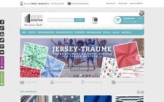 Stoffkontor Webseiten Screenshot