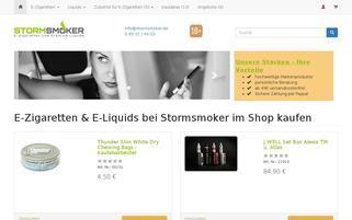 stormsmoker.de Webseiten Screenshot