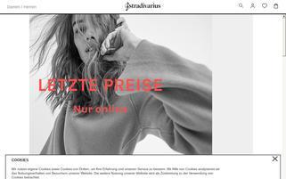 Stradivarius Webseiten Screenshot