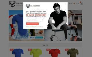 strammermax.com Webseiten Screenshot